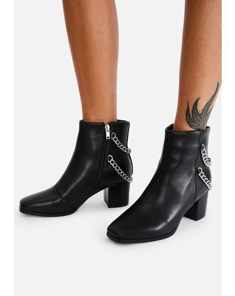 Dark You Problem Chain Boots