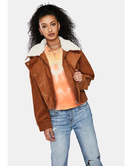Nothing Like Us Cropped Jacket