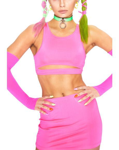 Pixie Flash Delirium Skirt Set
