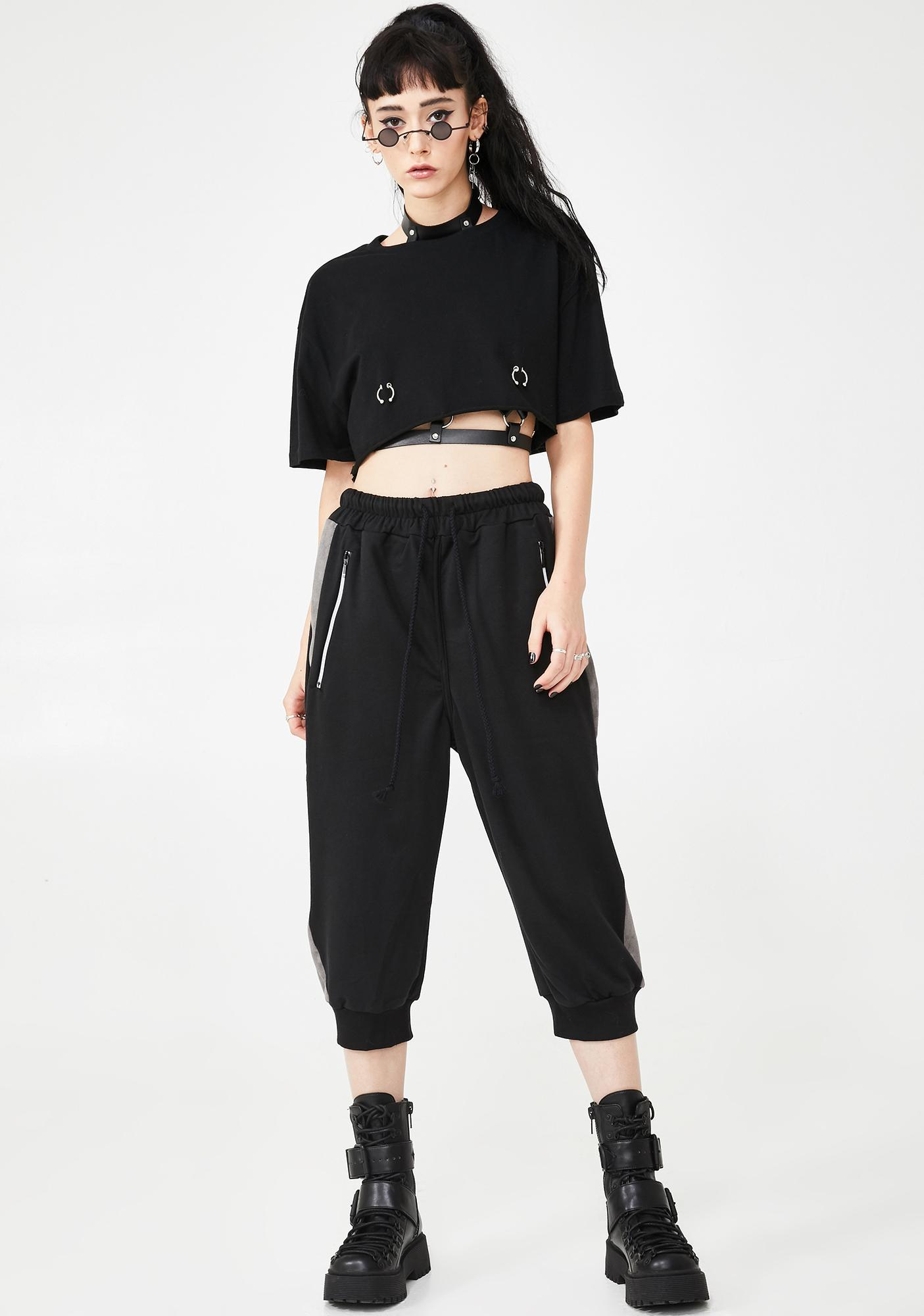 MNML On The Run Cropped Joggers