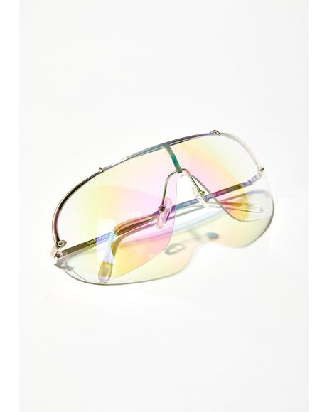 Mz. Prismatic Ecstasy Iridescent Glasses