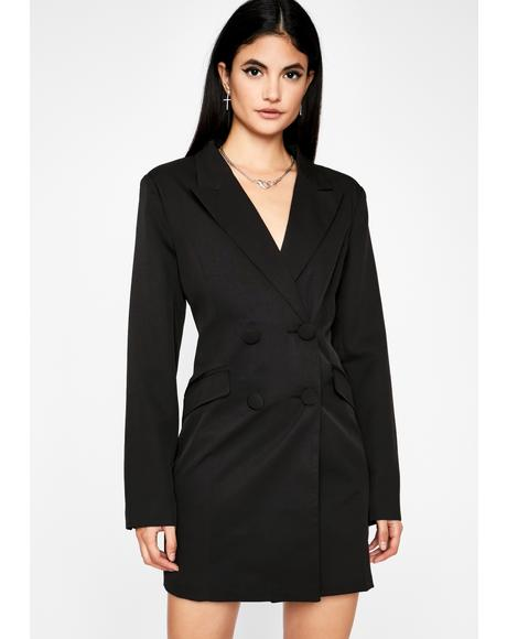 Wicked Higher Up Blazer Dress