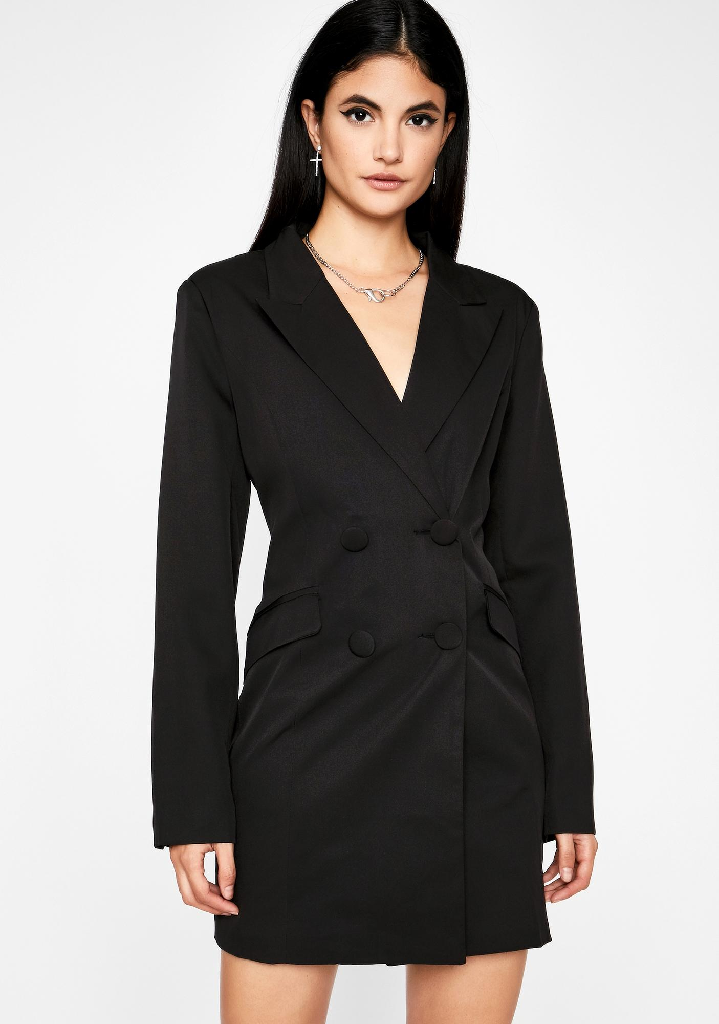 Wicked Higher Up Blazer Dress by