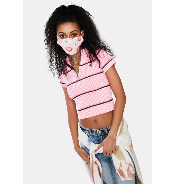 Berry Safe Face Mask