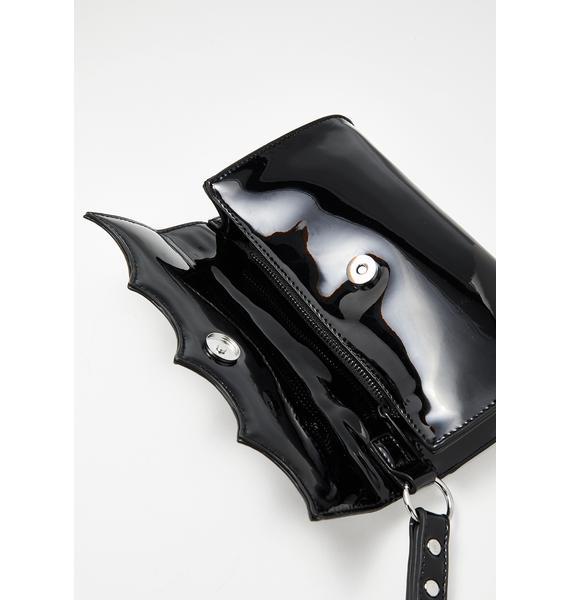Sourpuss Clothing Bat Wing Wristlet