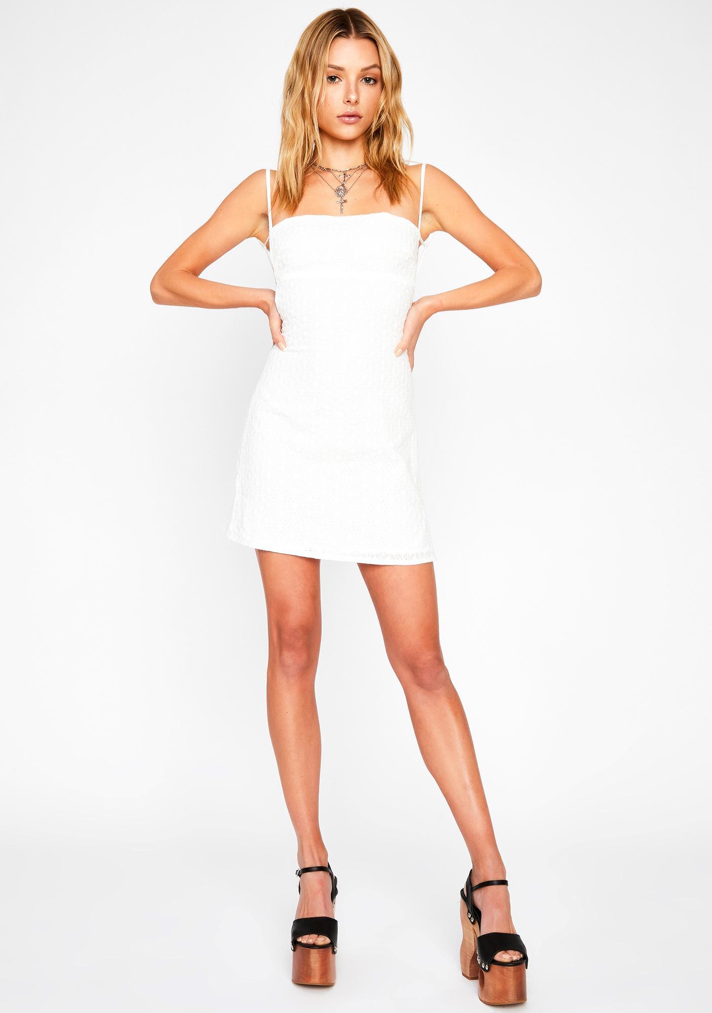 Blanc Summer Daze Mini Dress