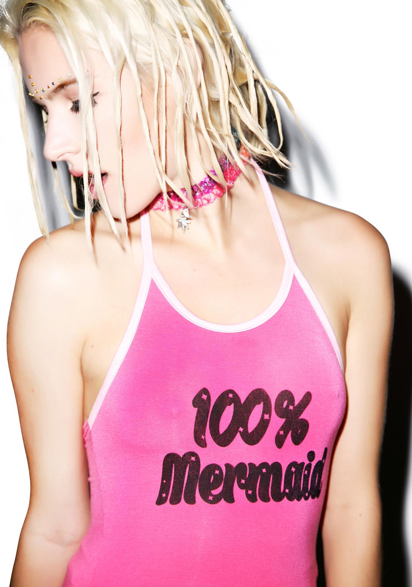 O Mighty Total Mermaid Halter Top
