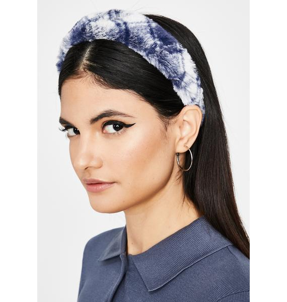 Chill Adorable Alumni Fuzzy Headband