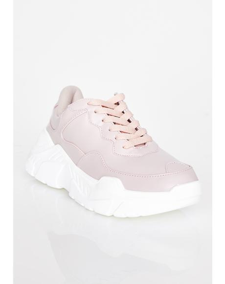 Miss Talk Back Chunky Sneakers