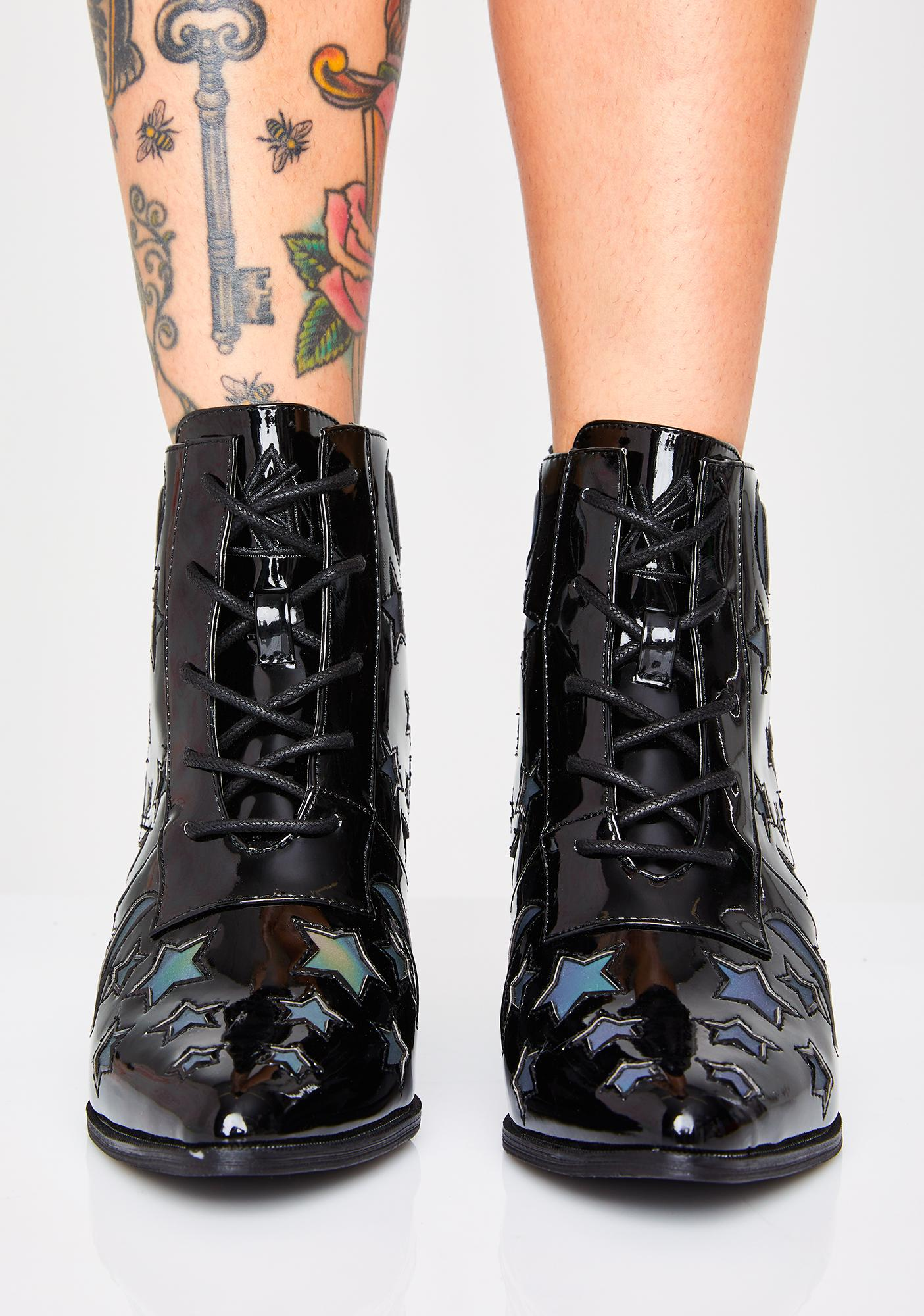 Y.R.U. Aura Reflective Boots