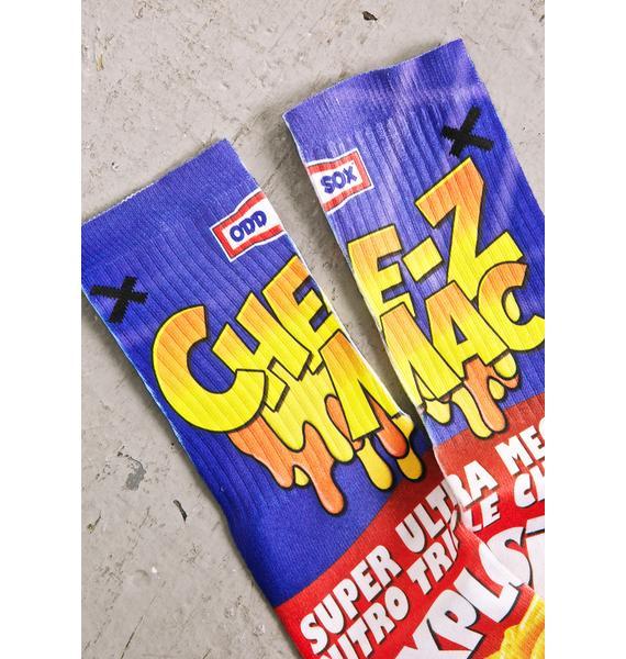 Odd Sox Mac N Cheese Socks