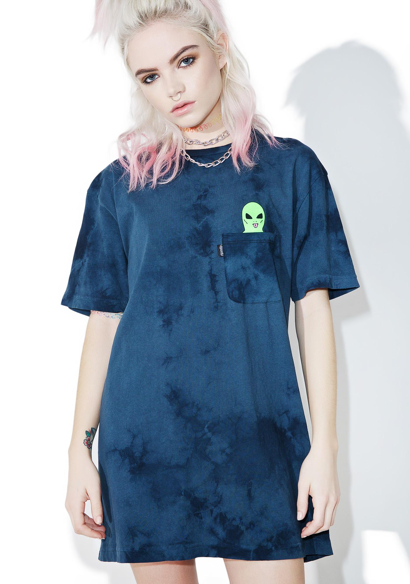 RIPNDIP Washed Lord Alien Pocket Tee