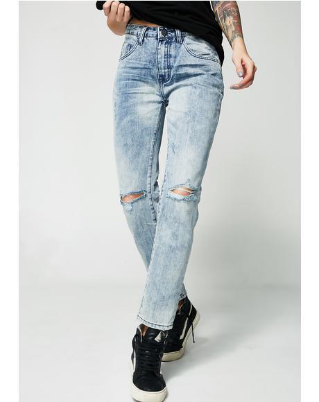 Awesome Baggies High Waist Jeans