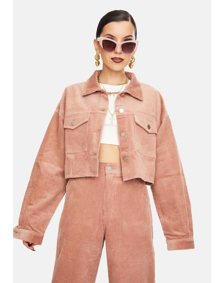Brick Harriet Corduroy Jacket