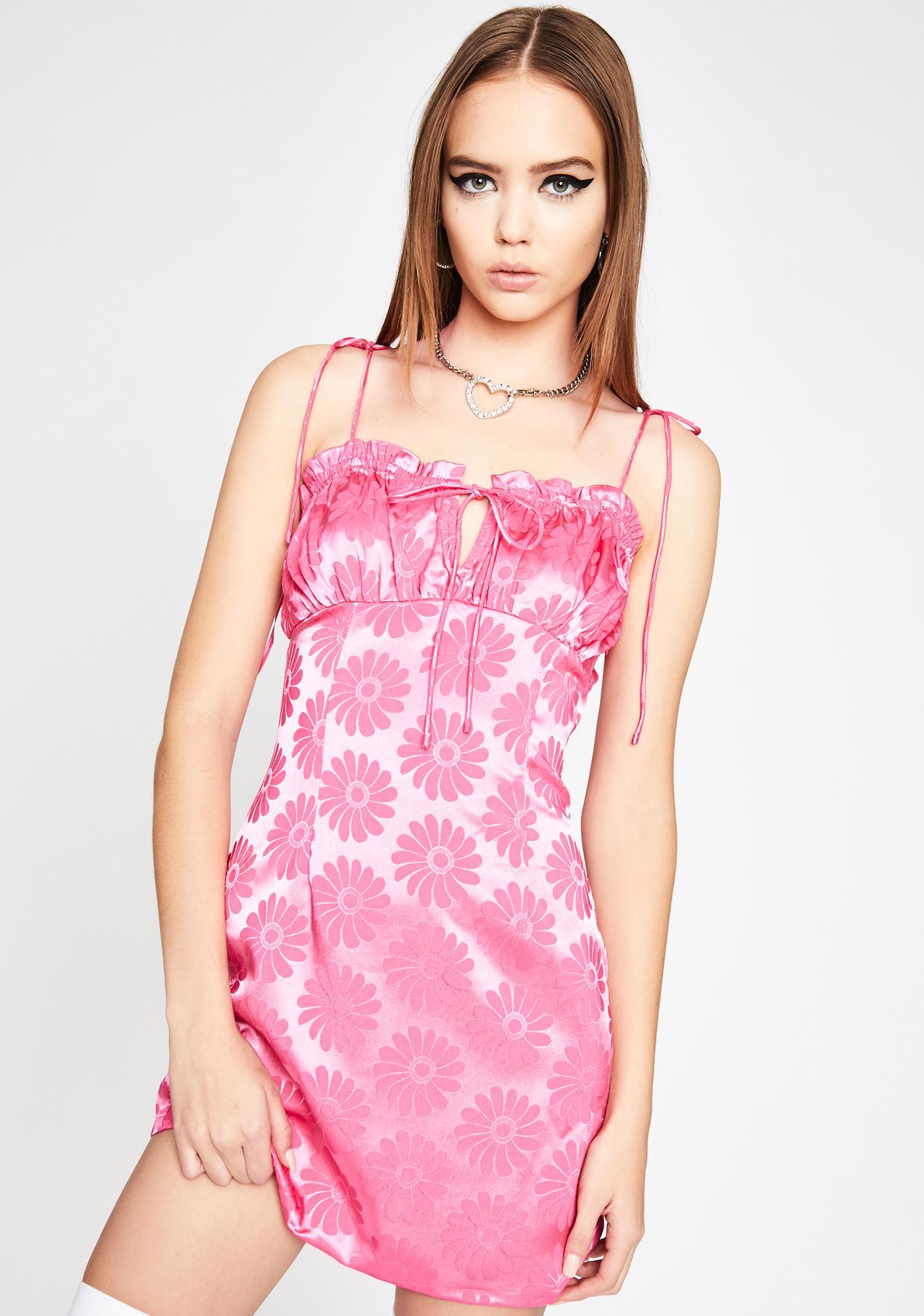 Daisy Doll Satin Dress