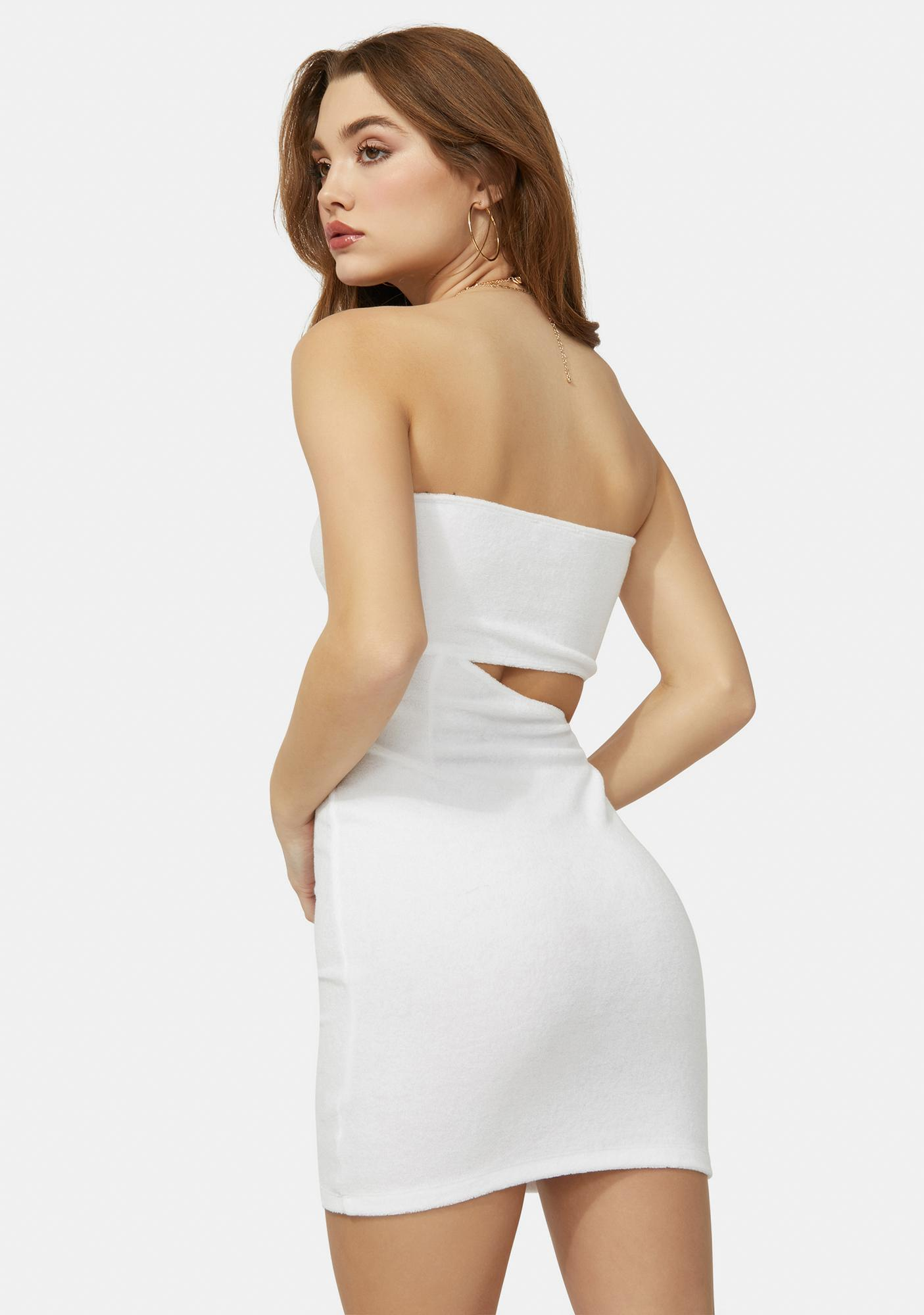 Angel Hottie In Hollywood Cutout Bodycon Dress
