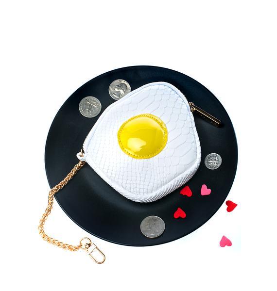 Skinnydip Fried Egg Coin Purse