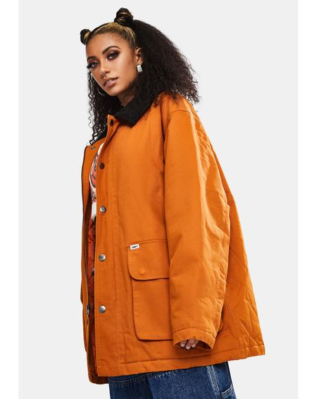 Pumpkin Spice Far Hunting Jacket
