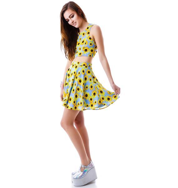 Sunflower Garden Skirt