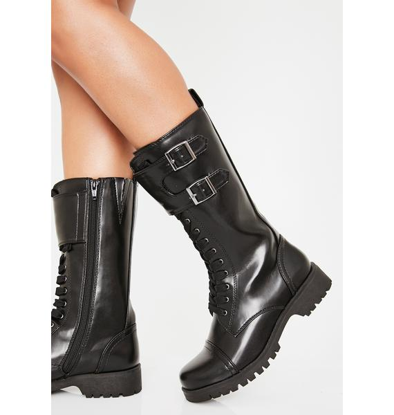 Volatile Shoes Tank Boots