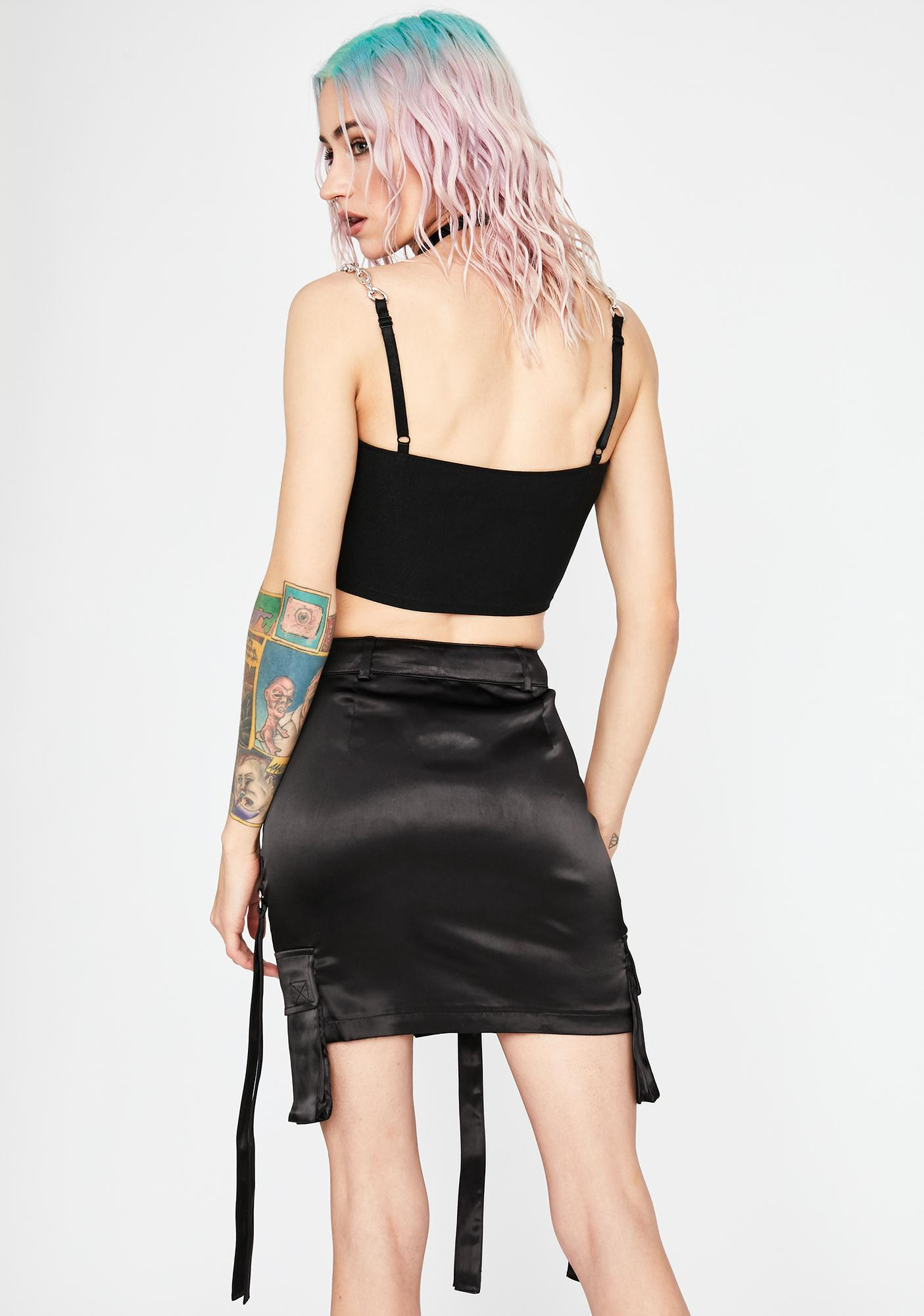 Current Mood Total Game Changer Cargo Skirt