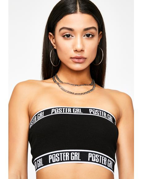 Night Boss Mode Tube Top