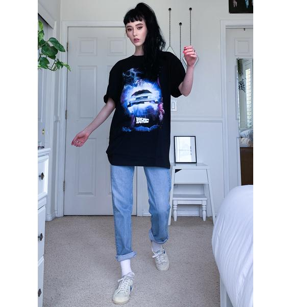 Criminal Damage X Back To The Future Time In Space Tee