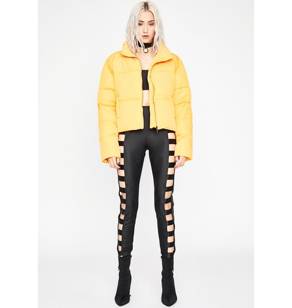 Juicy Points Were Made Puffer Jacket