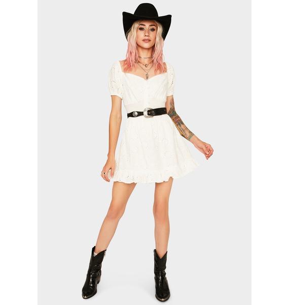 Finders Keepers Ditsy Doo Mini Dress