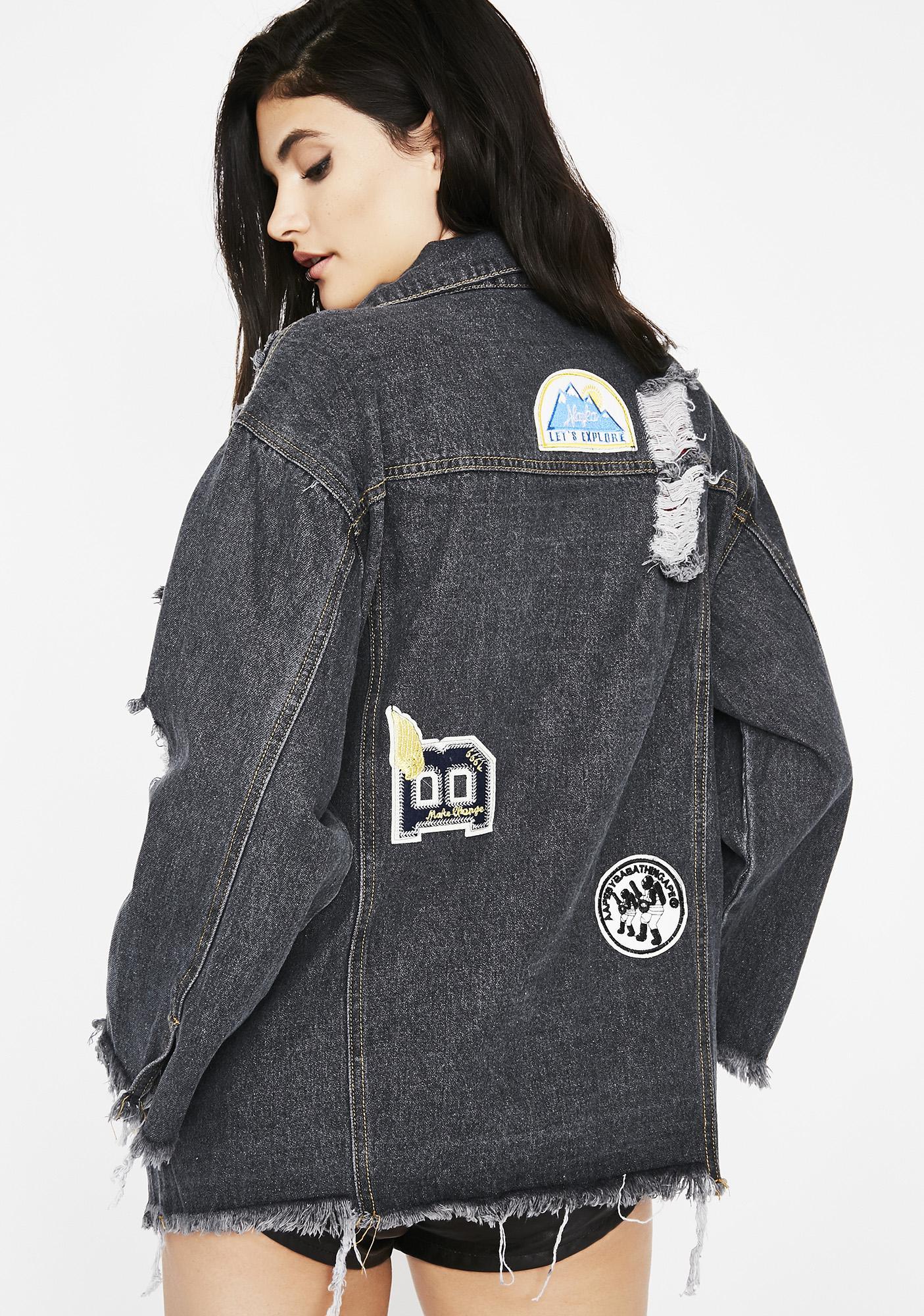Heavy Hitta Patch Denim Jacket