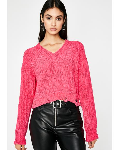 Bae Impossibly Cute Knit Sweater