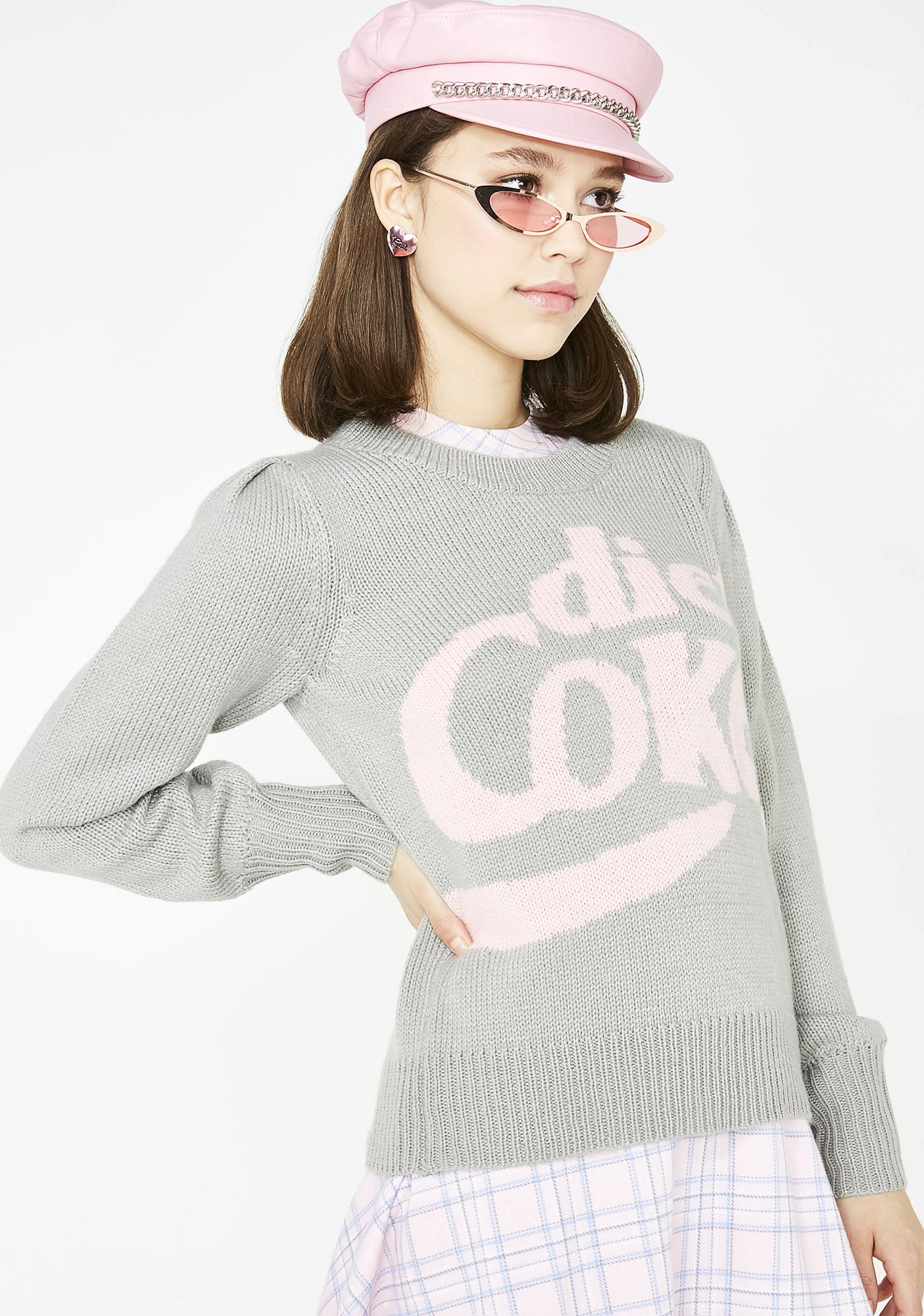 Wildfox Couture Diet Coke Sweater