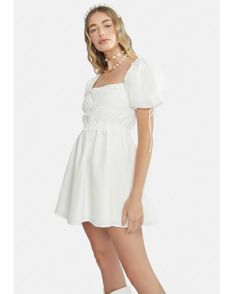 Lost In Love Puff Sleeve Dress