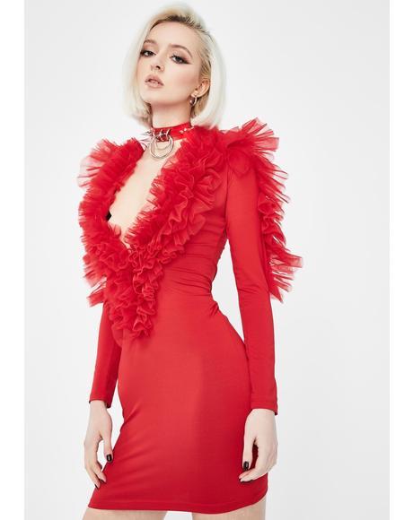 Spicy Intense Shade Mini Dress