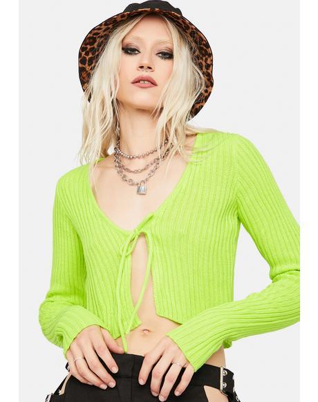 Desire Ribbed Knit Crop Top
