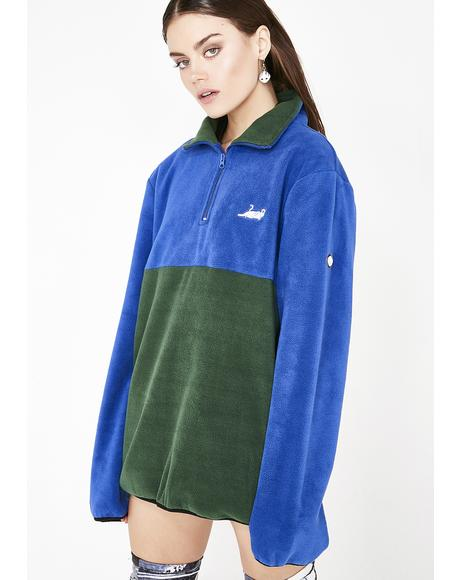 Castanza 3/4 Zip Up Jacket