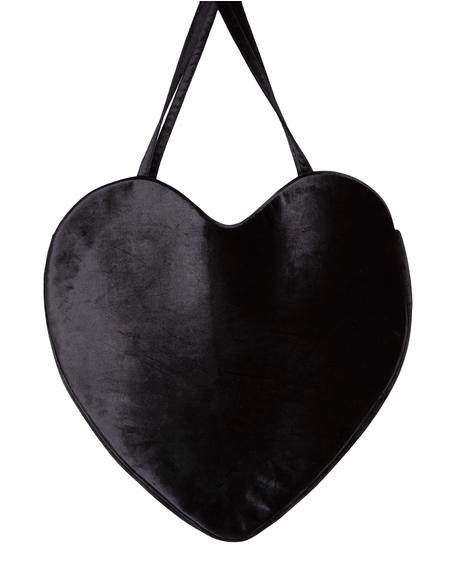 Midnight Love Mega Tote Bag