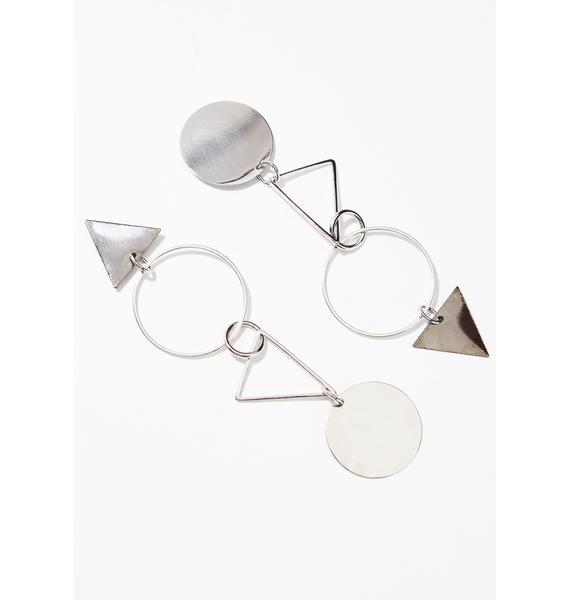 Cool Geometric Earrings