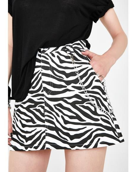 Animal Rights Mini Skirt