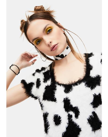 Cow Chic Choker