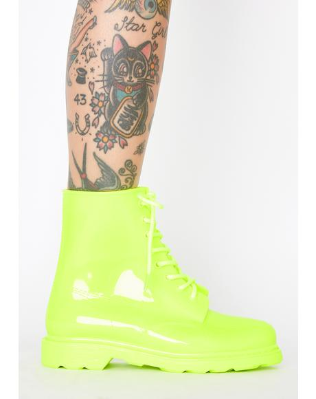 Glow For It PVC Booties