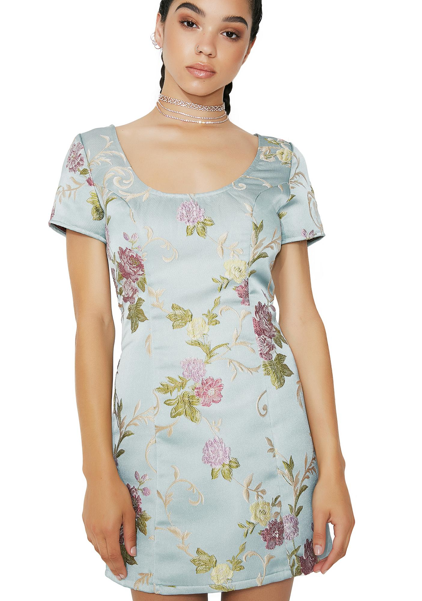 A Stitch In Time Floral Dress