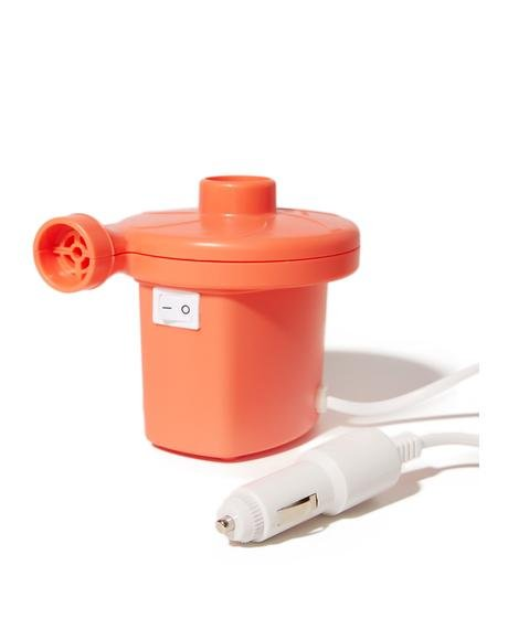 Hott Coral Inflatable Pump