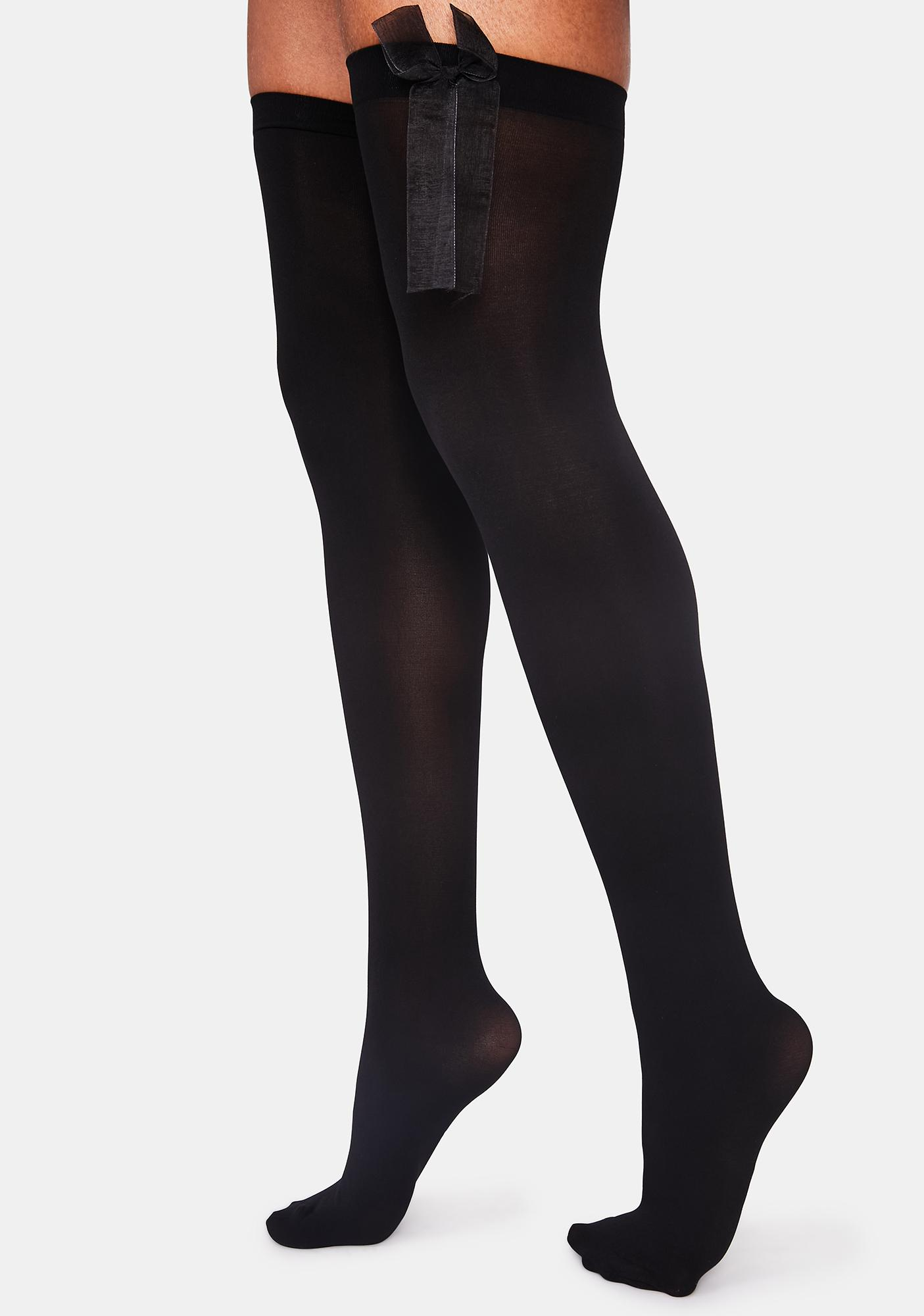 What You Need Thigh High Stockings