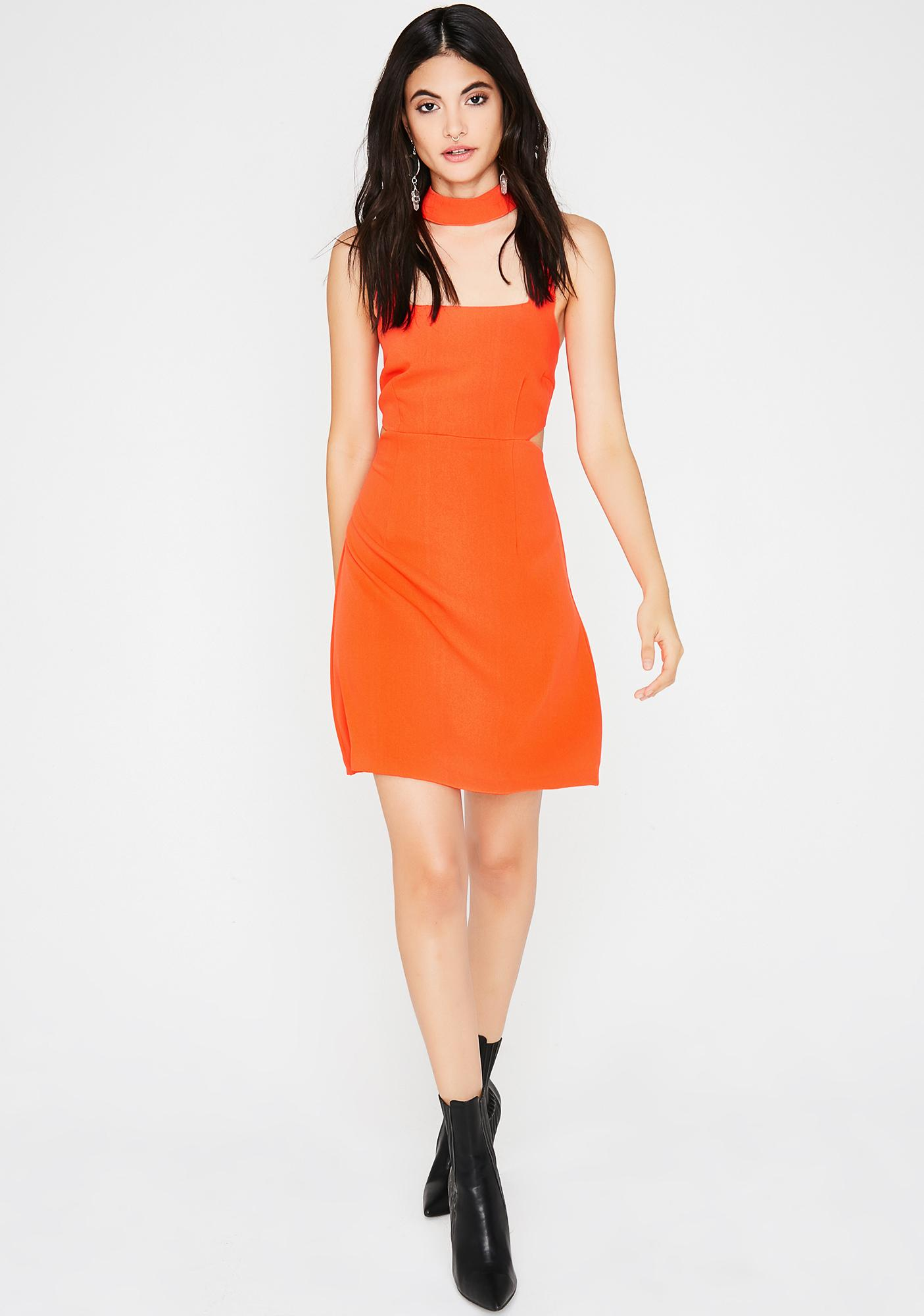 Cali Poppy Mini Dress