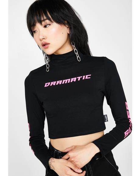 Super Dramatic Crop Top