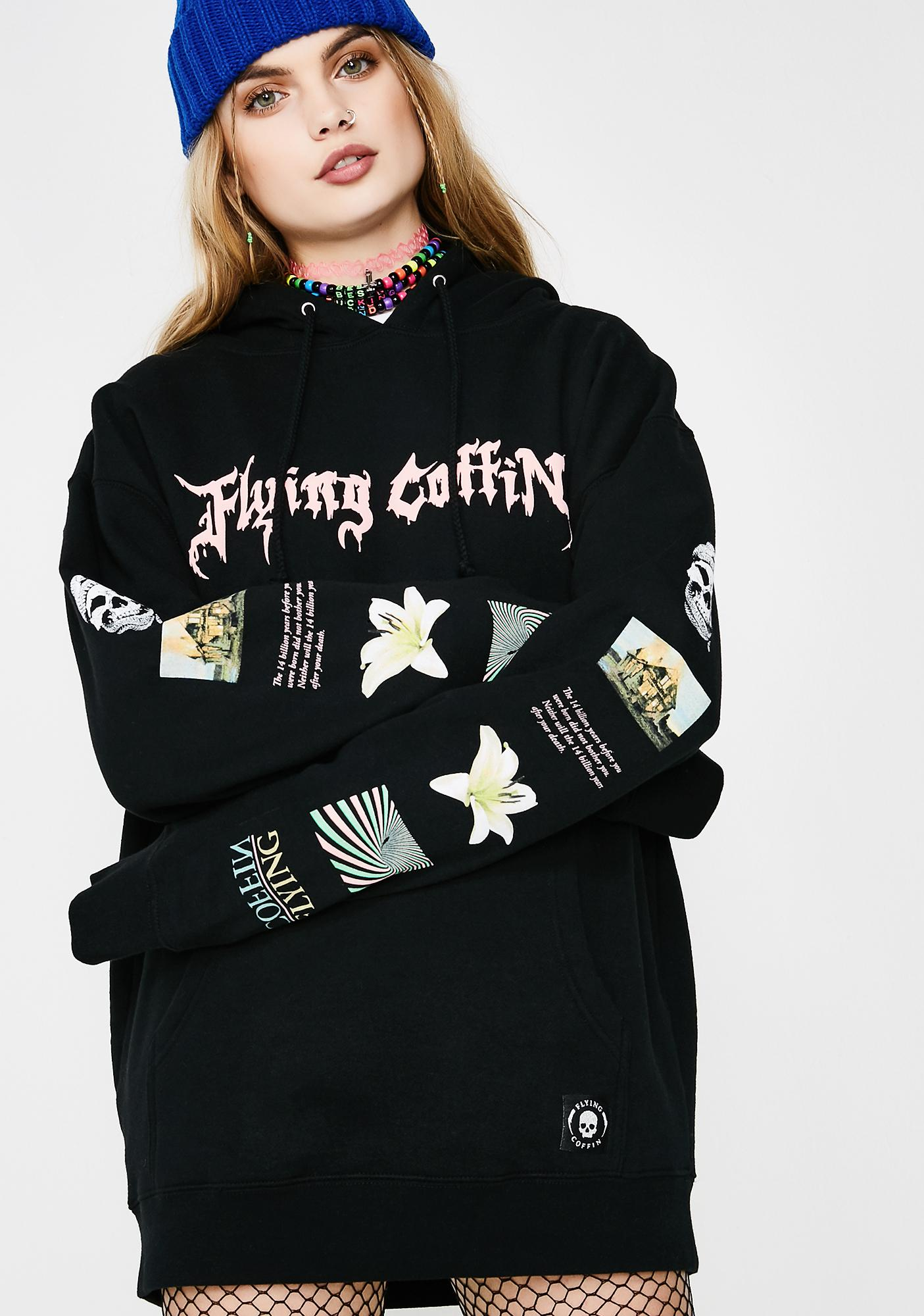 Flying Coffin Stack Pullover Hoodie
