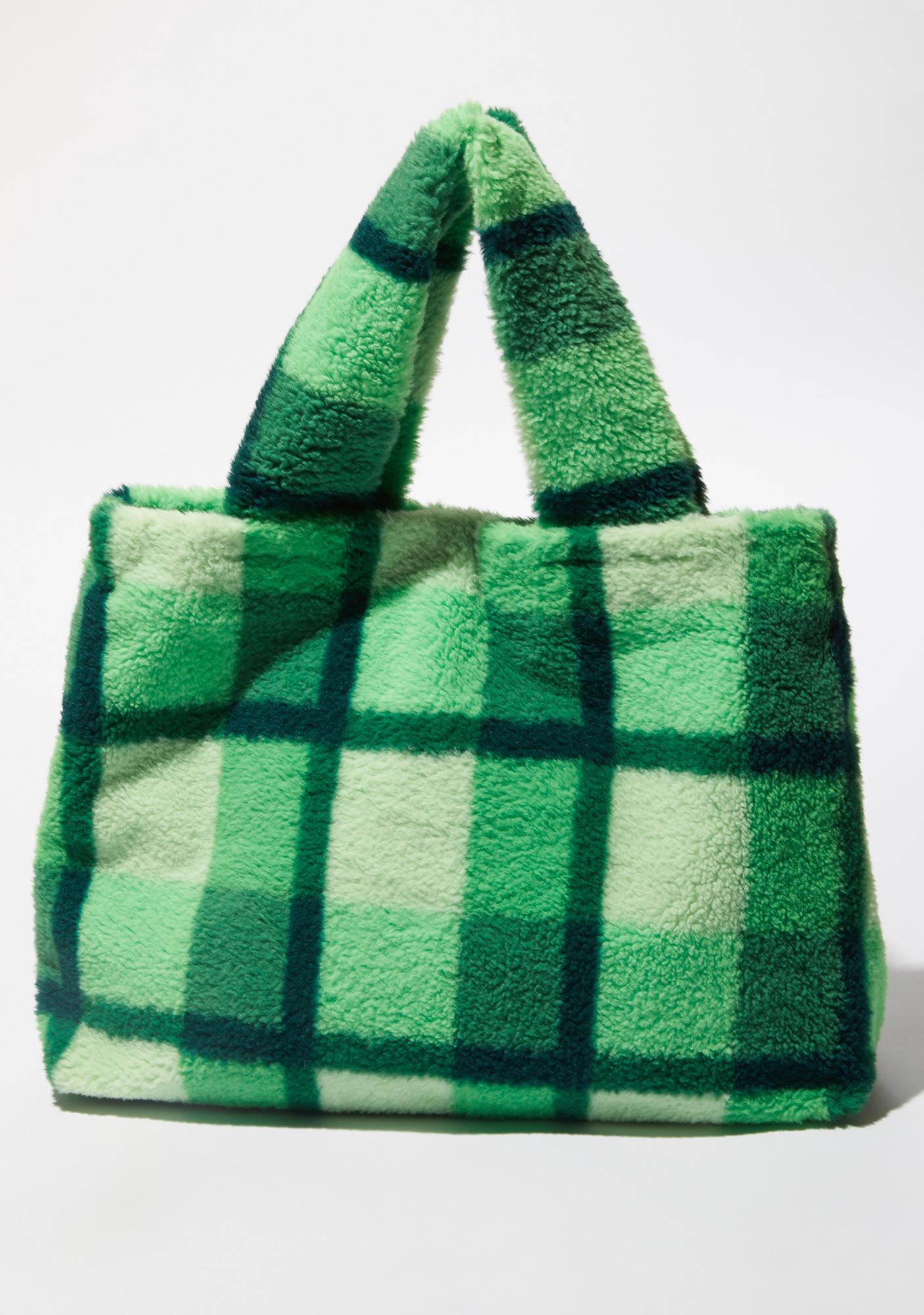 dELiA*s by Dolls Kill Funky N' Fresh Fuzzy Tote Bag
