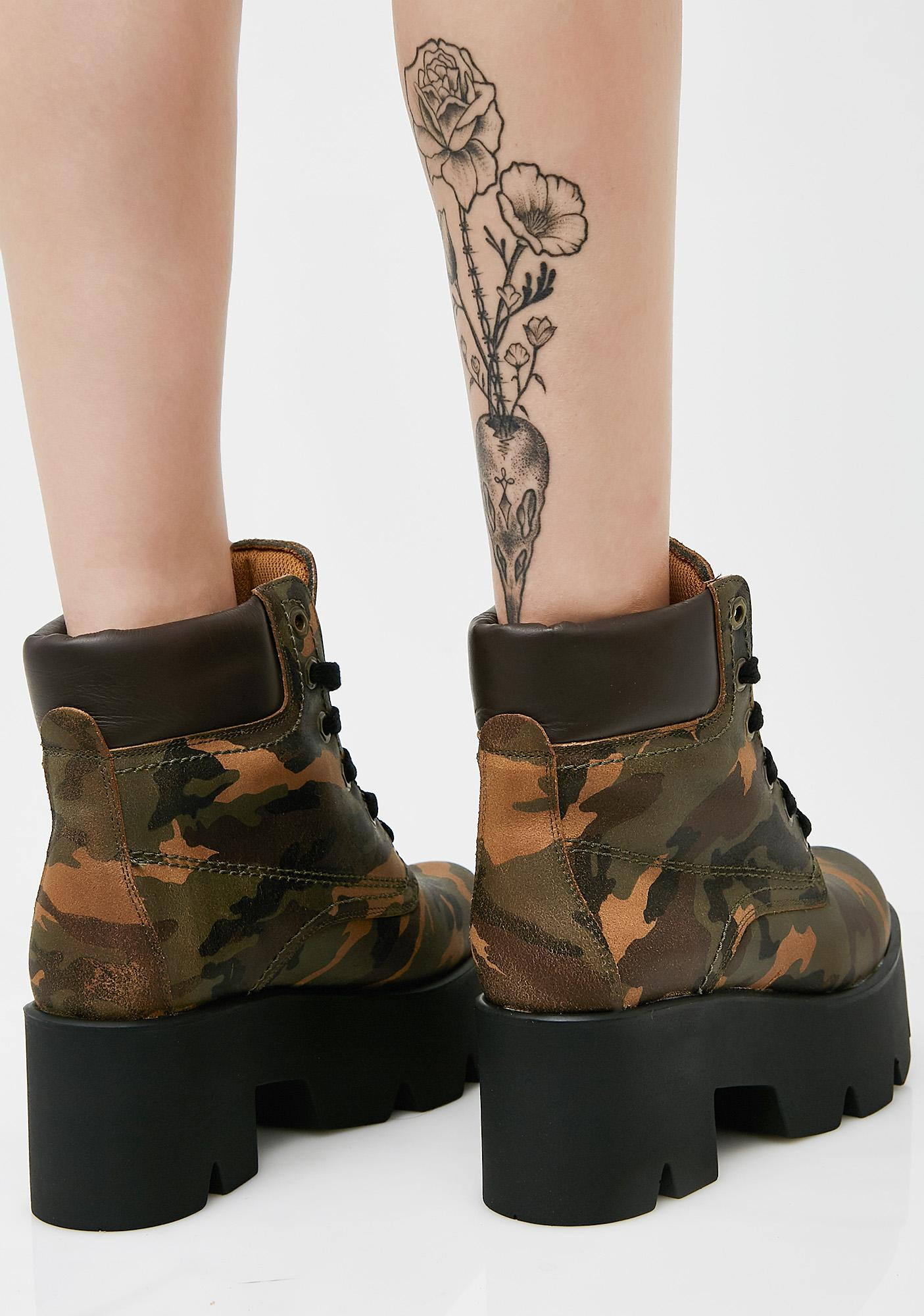 Shellys London Terrence Platform Boots