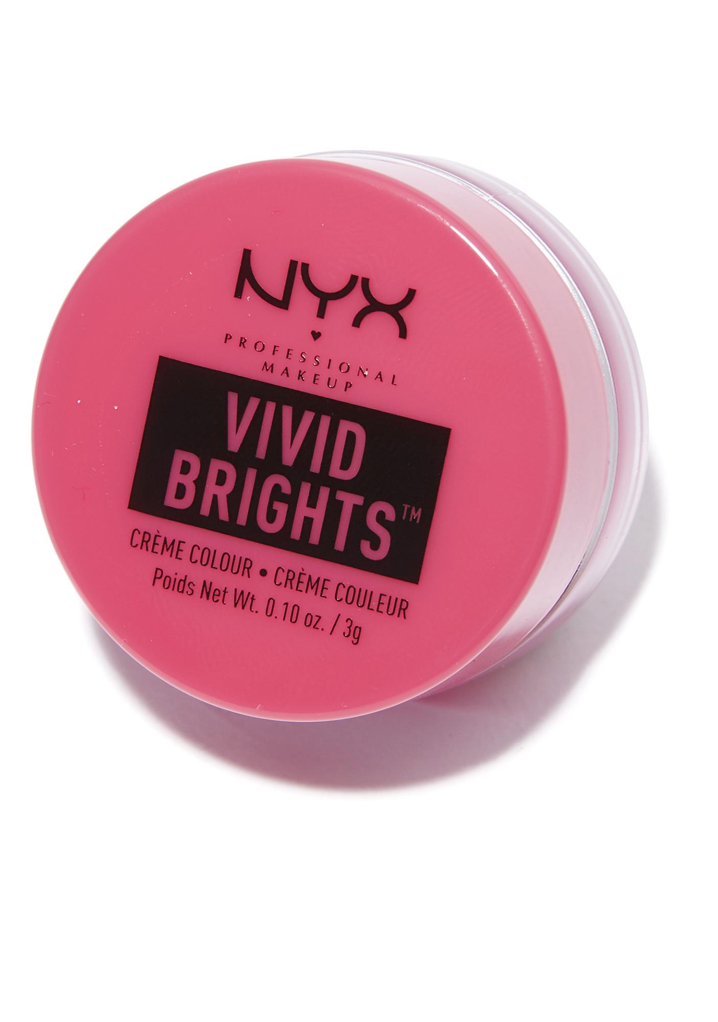 NYX Love Overdose Vivid Brights Creme Colour